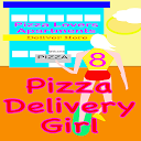 Pizza Delivery Girl- Deliver and Avoid Obstacles.